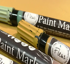 Fleur Paint Marker Welcome Green