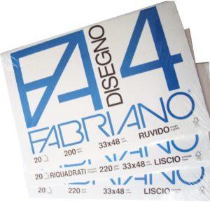 Album FABRIANO 4 Ruvido 33x48
