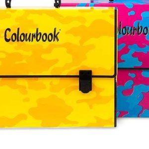 Polionda Colourbook Azzurra/Fuksia Camouflage