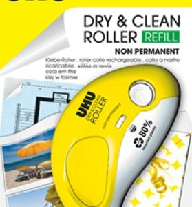 DRY E CLEAN ROLLER Non Permanent UHU