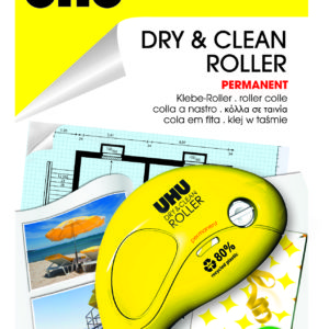DRY E CLEAN ROLLER Permanent UHU